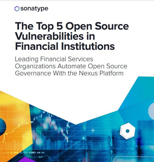 Top 5 de vulnerabilidades open source dentro de las organizaciones de servicios financieros