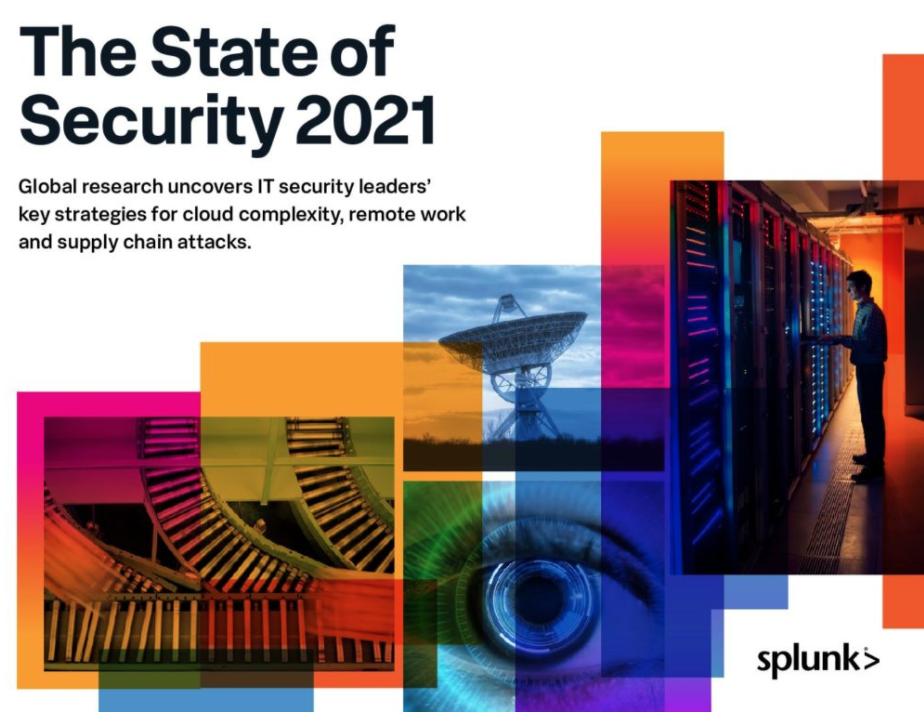 Informe sobre el estado de seguridad 2021 – Splunk